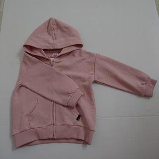 シマムラ(しまむら)のオーガニックコットン パーカー 100(ジャケット/上着)