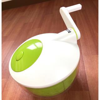 スイスのブランド 野菜水切り器 サラダスピナー(調理道具/製菓道具)