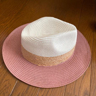 エイチアンドエム(H&M)のH&M  麦わら帽子  美品(麦わら帽子/ストローハット)