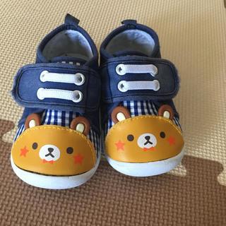 ニシマツヤ(西松屋)のくまさん靴13センチ(スニーカー)