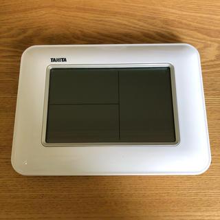タニタ(TANITA)のタニタデジタル温湿度計TT-530-WH(日用品/生活雑貨)