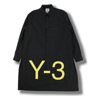 ワイスリー(Y-3)のy-3 M CLASSIC SHIRTBLACK ヨウジヤマモトクラシックシャツ(シャツ)