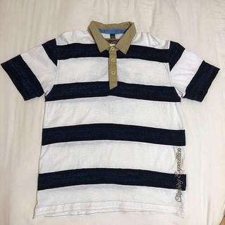 ナパピリ(NAPAPIJRI)のお値下げしました ナパピリ 半袖 ボーダー ポロシャツ(Tシャツ/カットソー(半袖/袖なし))