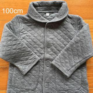 ムジルシリョウヒン(MUJI (無印良品))の無印良品 ベビー キルト ジャケット 100cm(ジャケット/上着)