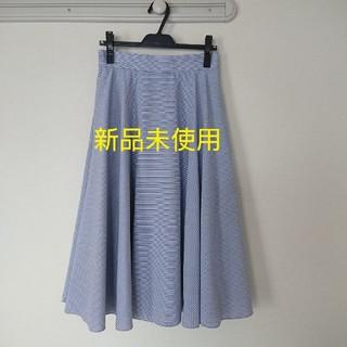 UNIQLO - ユニクロ【新品未使用.タグ付き】フレアースカート(L)
