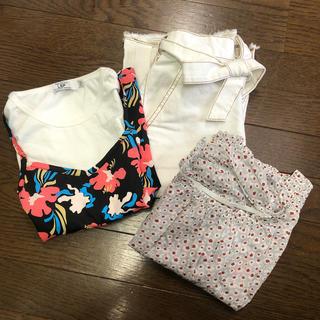 ジーユー(GU)のキッズ 女の子 150㎝ Tシャツ スカート(その他)