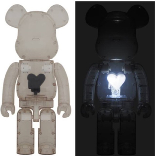 メディコムトイ(MEDICOM TOY)のBE@RBRICK EMOTIONALLY UNAVAILABLE Black(その他)