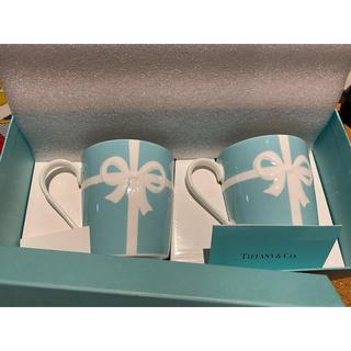 ティファニー(Tiffany & Co.)のティファニー Tiffany& Co. ペアマグカップ ブルーリボン(マグカップ)