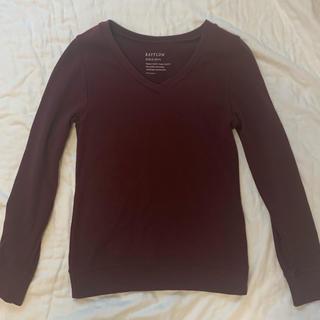 ベイフロー(BAYFLOW)のbayflow ベイフロー 長袖tシャツ ボルドー(Tシャツ(長袖/七分))