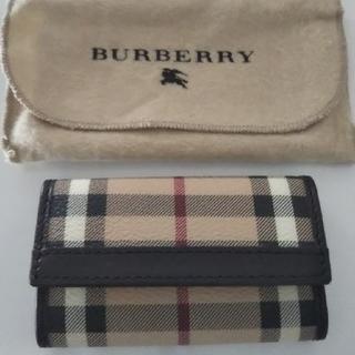 バーバリー(BURBERRY)の【新品】BURBERRY キーケース(キーケース)
