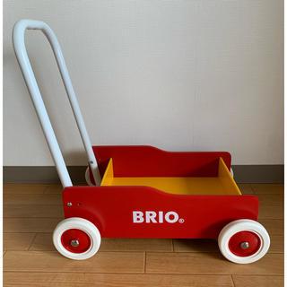 ブリオ(BRIO)のBRIOおもちゃ(手押し車/カタカタ)
