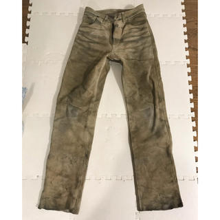 バンソン(VANSON)のAero leatherスェードレザーパンツ(レザージャケット)