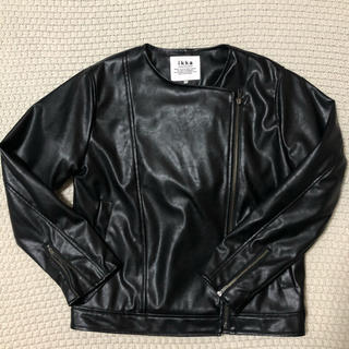ikka - ライダーズジャケット ライダーズ ikka 黒