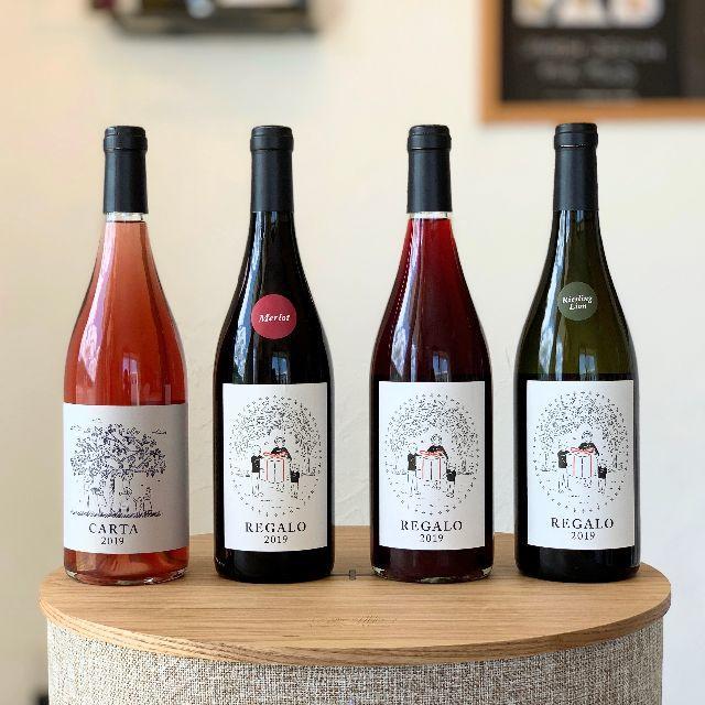 """""""やさしくなれるひとときを"""" 海街ワイン2019年ヴィンテージセット 食品/飲料/酒の酒(ワイン)の商品写真"""