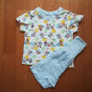 ディズニー(Disney)のベビーミッキー パジャマ 80サイズ(パジャマ)