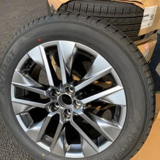 トヨタ(トヨタ)の新車外し!RAV4 GZパッケージ 純正ホイールタイヤセット(タイヤ・ホイールセット)