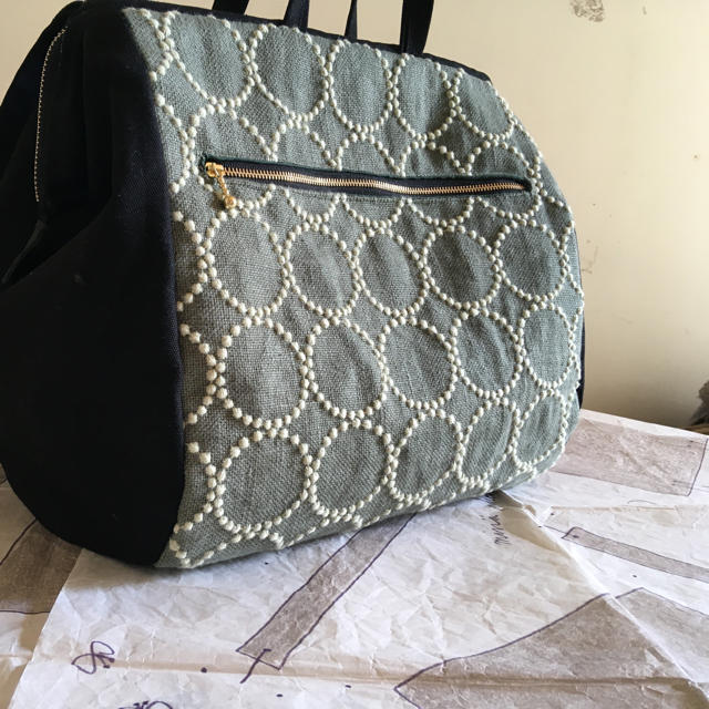 mina perhonen(ミナペルホネン)のキャサリン様専用 ボストンリュック  レディースのバッグ(リュック/バックパック)の商品写真