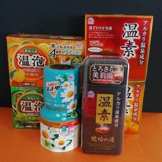 アースセイヤク(アース製薬)のアース製薬 6点セット 入浴剤(温泡・温素) + お部屋のスッキリ(入浴剤/バスソルト)