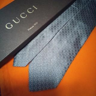 グッチ(Gucci)の【期間限定】グッチ GUCCI G柄 Gマーク  最高級シルクネクタイ(ネクタイ)
