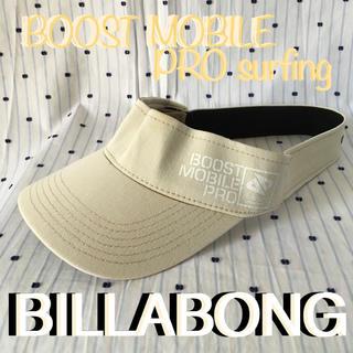 ビラボン(billabong)のBillabongビラボントラッセルズ大会限定ブーストモバイルproサンバイザー(サーフィン)