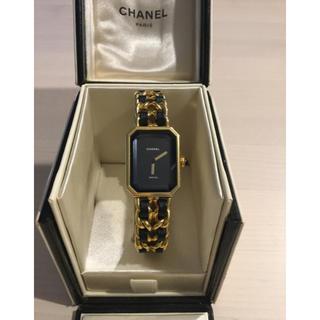 シャネル(CHANEL)のCHANELヴィンテージ プルミエール レディース腕時計Lサイズ(腕時計)