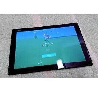 エクスペリア(Xperia)のXPERIA Z4 tablet SO-05G 黒 画面割れ ジャンク(タブレット)