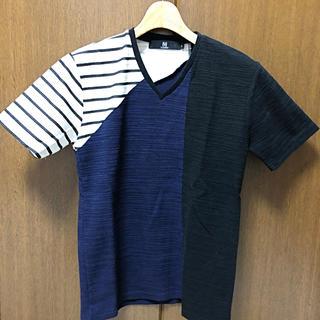 カンビオ(Cambio)の【美品】CAMBIO  V Neck Tee Tシャツ(Tシャツ/カットソー(半袖/袖なし))