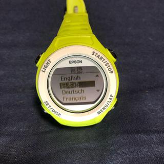 エプソン SF-110 ランニング  ウォッチ(ランニング/ジョギング)