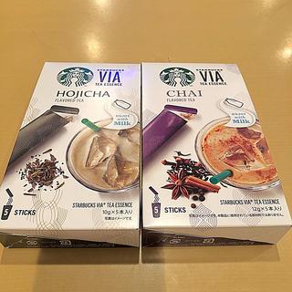 スターバックスコーヒー(Starbucks Coffee)のスターバックス VIAチャイ&ほうじ茶10本セット スタバ ヴィア(茶)