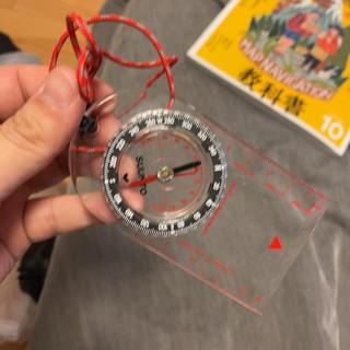 スント(SUUNTO)のSUUNTOプレートコンパス&教科書 スント 方位磁石(登山用品)
