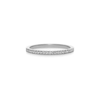 アーカー(AHKAH)のAHKAHティナリングプラチナ8号(リング(指輪))