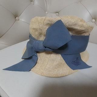 ヴィヴィアンウエストウッド(Vivienne Westwood)のVivienne Westwood 帽子(麦わら帽子/ストローハット)