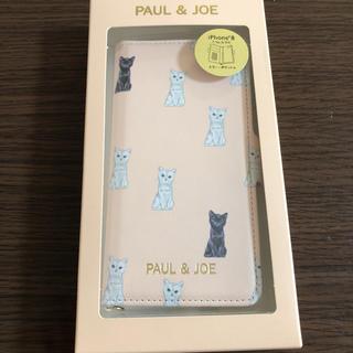 ポールアンドジョー(PAUL & JOE)の新品 未開封 ポール&ジョー iPhone 6 6s 7 8 手帳型 ケース(iPhoneケース)