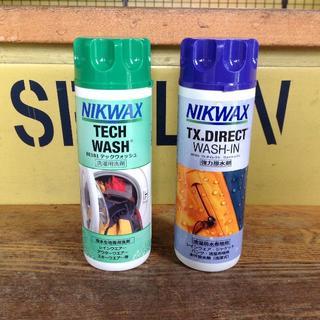 NIKWAX ニクワックス 洗濯式強力撥水剤 & 洗濯用洗剤 セット(その他)