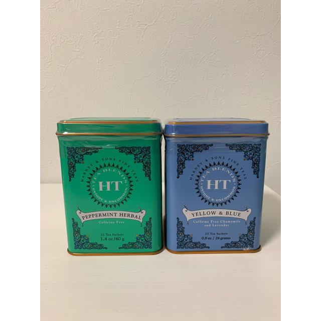 DEAN & DELUCA(ディーンアンドデルーカ)のハーニー&サンズ ブルー&イエロー ペパーミント ハーブティー 食品/飲料/酒の飲料(茶)の商品写真