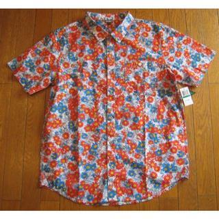 エルアールジー(LRG)の新品 LRG RC PRINTED 総花柄プリント 半袖シャツ  L (シャツ)