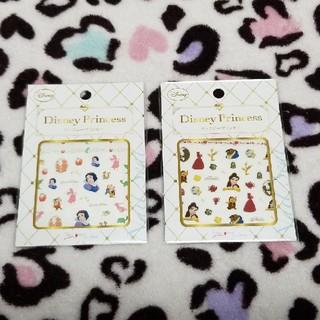 ディズニー(Disney)の☆SALE☆ディズニープリンセス ネイルシール(ネイル用品)
