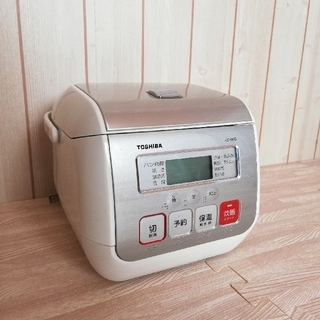 東芝 - 東芝 3合炊き炊飯器【取扱説明書付き】