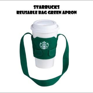 Starbucks Coffee - スターバックス 緑 エプロン カップスリーブ