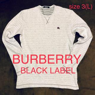 BURBERRY BLACK LABEL - バーバリーブラックレーベル ボーダーロンT