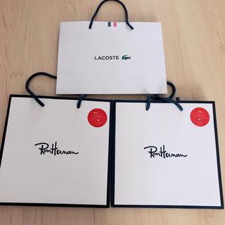 ロンハーマン(Ron Herman)のラコステ ロンハーマン ショップ袋(ショップ袋)