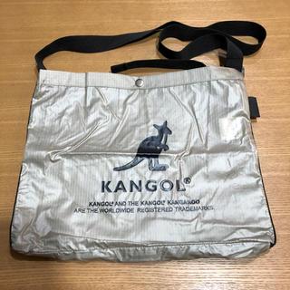 カンゴール(KANGOL)のKANGOL サコッシュ ショルダーバッグ 美品 (ショルダーバッグ)