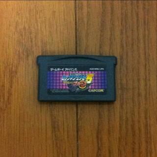 ゲームボーイアドバンス(ゲームボーイアドバンス)のジャンク GBA ロックマンエグゼ5 チームオブブルース ソフトのみ(携帯用ゲームソフト)