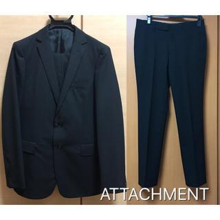 ATTACHMENT スーツ セットアップ 黒