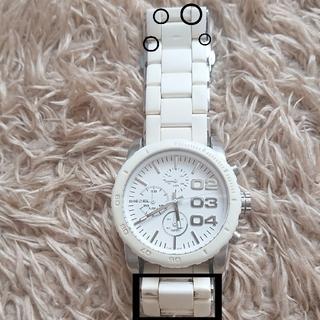 ディーゼル(DIESEL)のディーゼル 腕時計 ( 白 )(腕時計)