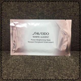 シセイドウ(SHISEIDO (資生堂))の資生堂のパワーブライトニング ホワイトルーセント パック(パック/フェイスマスク)