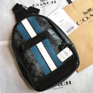 COACH - COACH/コーチボディバッグ F26067 ネイビー×デニムメンズバッグ