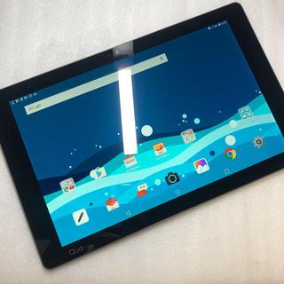 エルジーエレクトロニクス(LG Electronics)のSIM FREE au Qua tab PZ LGT32 ジャンク aki146(タブレット)