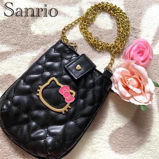 サンリオ(サンリオ)の💖ハローキティポシェット型スマホケース📲iPhone Android 💖(モバイルケース/カバー)