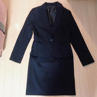 ギャルフィット(GAL FIT)の美品 スーツセット スカートスーツ 黒  入学式 卒業式 就活 レディース(スーツ)